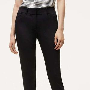 LOFT Skinny Ankle Pants in Julie Fit Size 4 Black